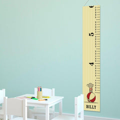 Personalized Growth Chart - Height Chart - Boys - Gifts for Kids - CircusPrince