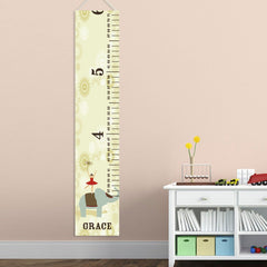 Personalized Growth Chart - Height Chart - Girls - Gifts for Kids - CircusPrincess - Gifts for Kids - AGiftPersonalized