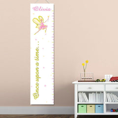 Personalized Growth Chart - Height Chart - Girls - Gifts for Kids - Fairy - Gifts for Kids - AGiftPersonalized