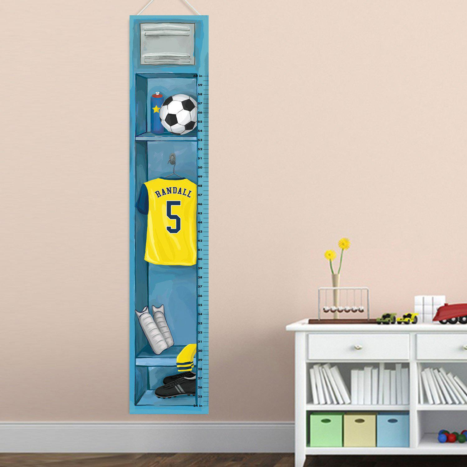 Kid's Soccer Growth Chart