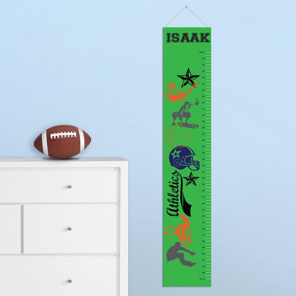 Personalized Growth Chart - Height Chart - Boys - Gifts for Kids - SuperSport - JDS