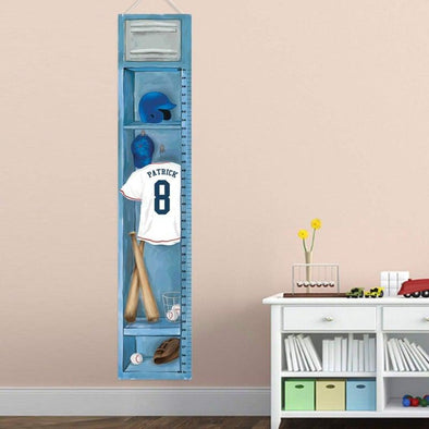 Personalized Growth Charts For Kids - Sports Collection -  - JDS