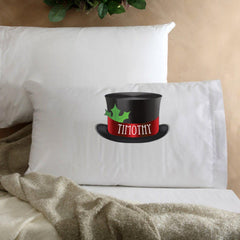 Personalized Kids Christmas Character Pillowcase - Snowman