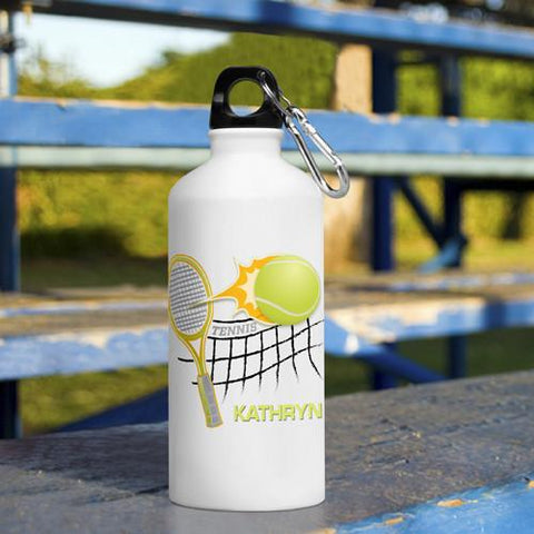 Personalized Kid's Sports Water Bottles - Tennis -  - Gifts for Kids - AGiftPersonalized