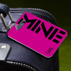 Personalized Luggage Tags - MINE-Pink