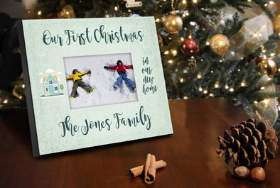 Personalized Our First Christmas 8x10 Picture Frame -  - JDS