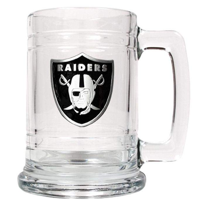 Personalized Beer Mugs - NFL Mug - Glass - 14 oz.