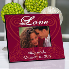 Personalized Valentine's Day Date Frame -  - Frames - AGiftPersonalized