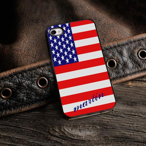 Personalized Black Trimmed Phone Cover - Show Your colors