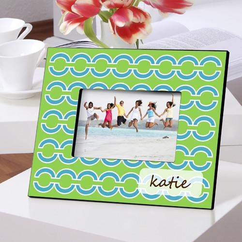 Personalized Color Bright Picture Frames - BlueLinks - JDS