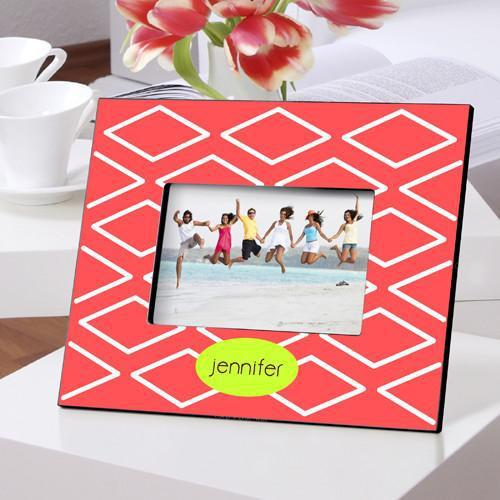 Personalized Color Bright Picture Frames - GeoCoral - JDS