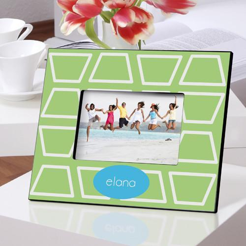 Personalized Color Bright Picture Frames - GeoLime - JDS