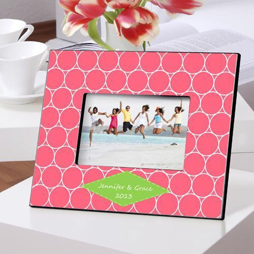 Personalized Color Bright Picture Frames - Hulahoop - JDS