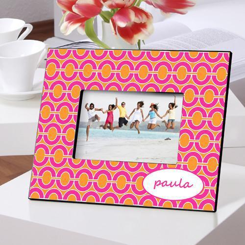 Personalized Color Bright Picture Frames - PinkLinks - JDS