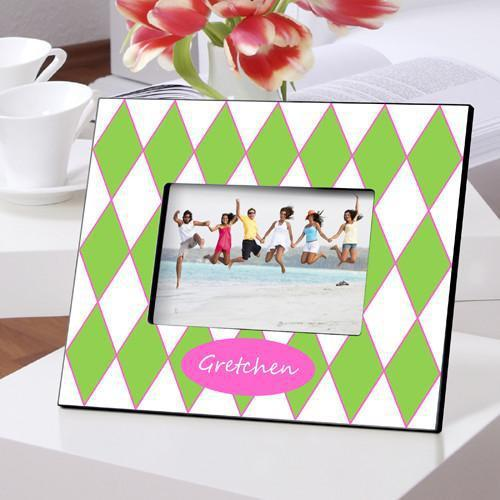 Personalized Color Bright Picture Frames - PreppyGems - JDS