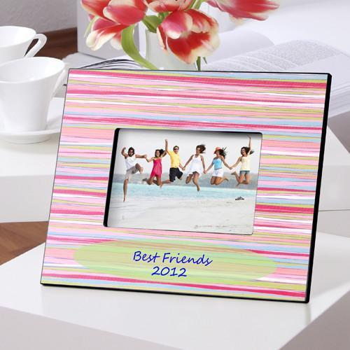 Personalized Color Bright Picture Frames - Watercolors - JDS