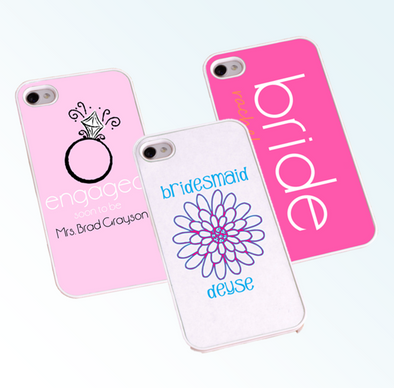 Personalized Bride and Bridesmaid Phone Cover -  - JDS