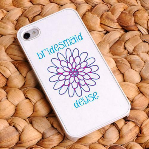 Personalized Bride and Bridesmaid Phone Cover
