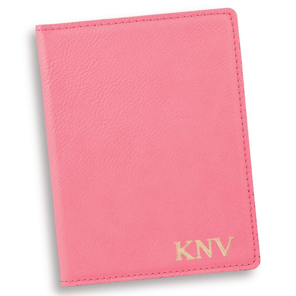 Personalized Pink Passport Holder college graduation ideas present for her