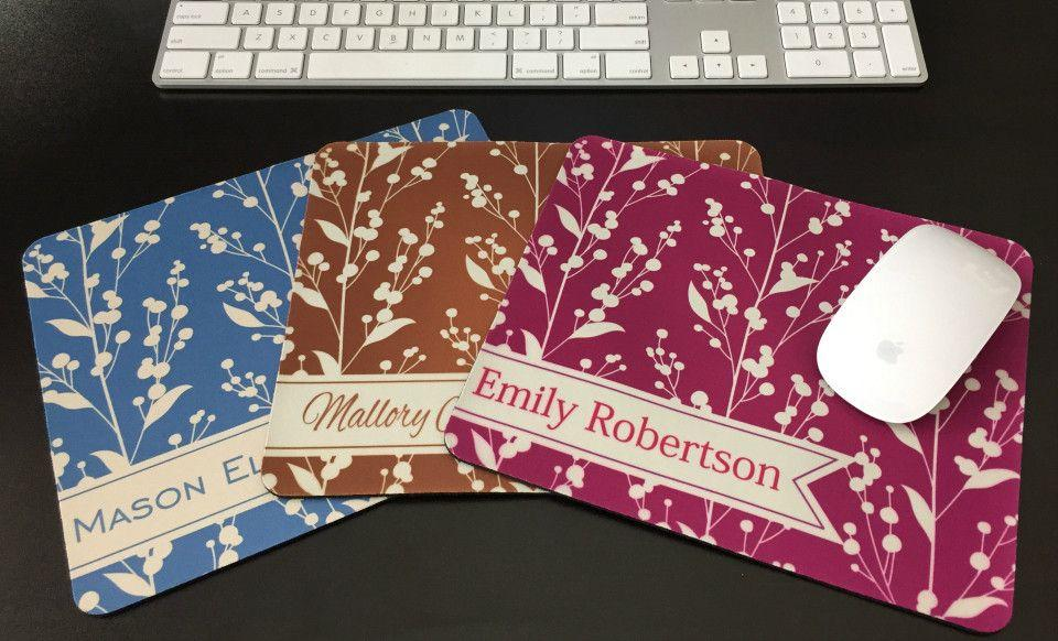Personalized Mouse Pads - Berries Design