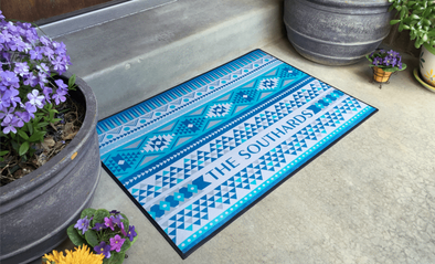 Personalized Large Door Mats - Southwest Design -  - Qualtry