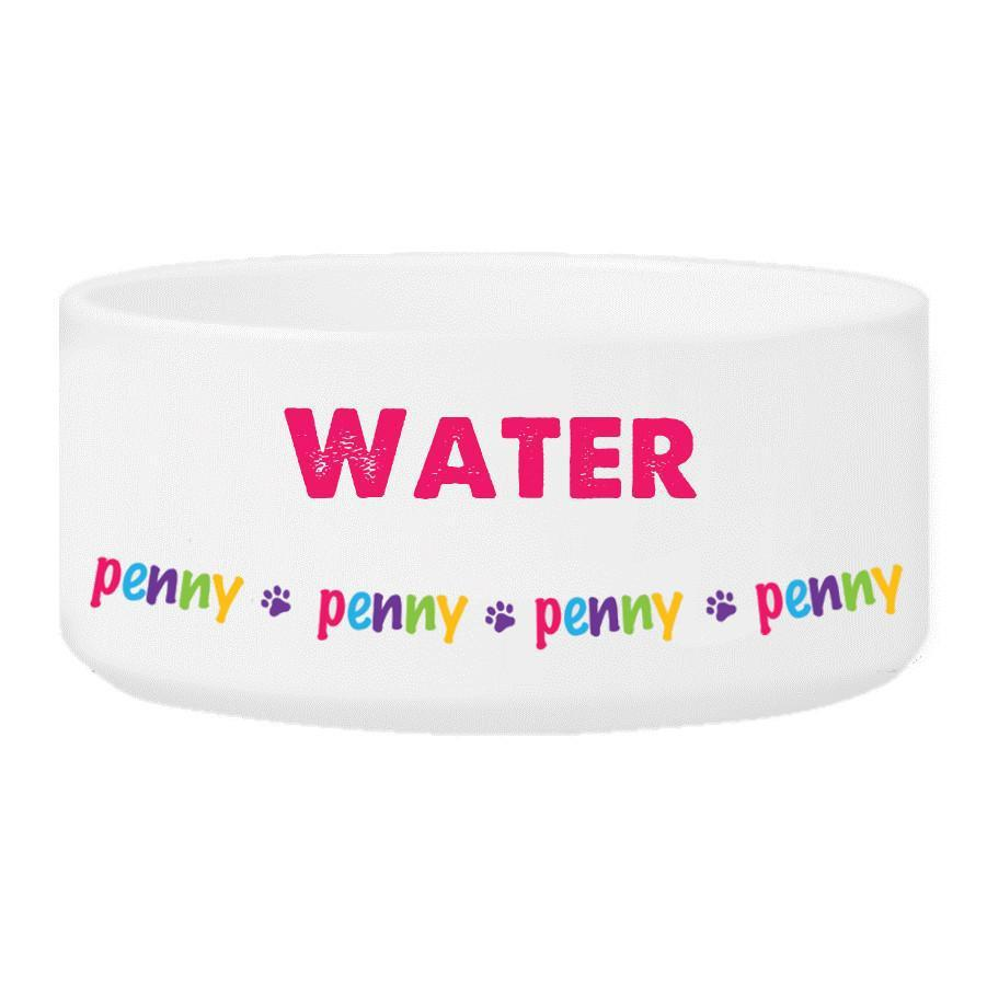 Personalized-Girl-Pet-Bowl
