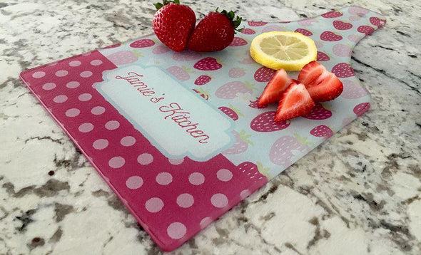 Personalized Tempered Glass Cutting Boards -  - Qualtry