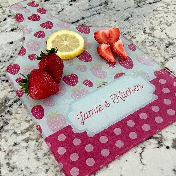 Personalized Tempered Glass Cutting Boards
