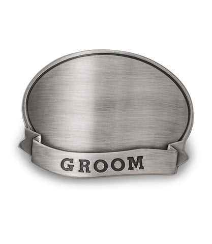 Personalized Can Cooler with Pewter Medallion - All at AGiftPersonalized
