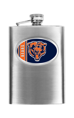 Personalized Flask - NFL Team Flask - Stainless Steel -  - Professional Sports Gifts - AGiftPersonalized
