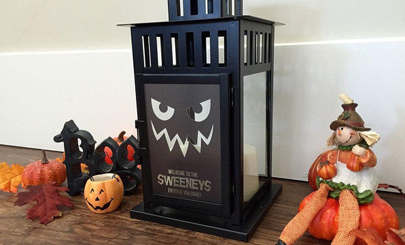 Personalized Halloween Lanterns - Black - Qualtry