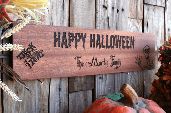 Personalized Halloween House Signs -  - Qualtry