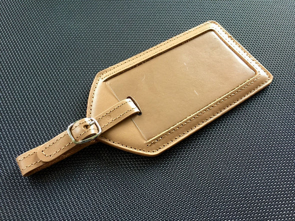 Genuine Leather Luggage Tag Cases -  - Qualtry