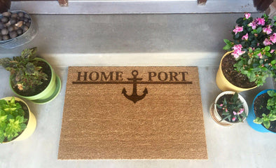 "Home Port Doormats - 23.5""x35"" -  - Qualtry"