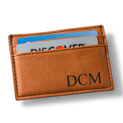 Personalized Rawhide Money Clip & Wallet -  - JDS