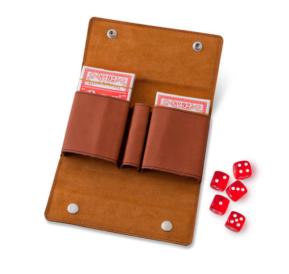 Personalized Card & Dice Set - Rawhide -  - JDS