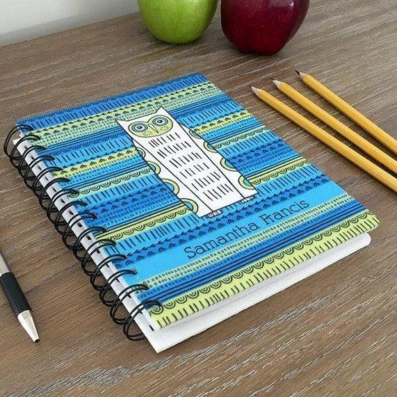 Personalized Large Spiral Notebooks -  - Qualtry