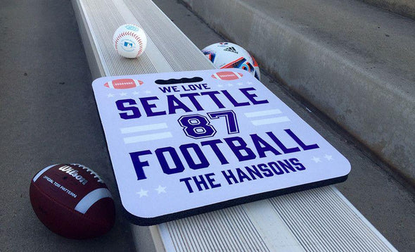 Personalized Large Stadium Seats -  - Qualtry