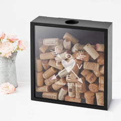 Personalized Love Arrows Shadowbox
