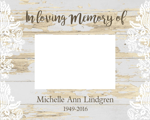 Personalized Memorial Frame -  - Frames - AGiftPersonalized
