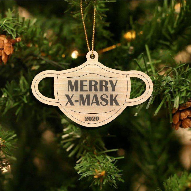 Personalizable Laser Engraved Christmas 2020 Ornaments