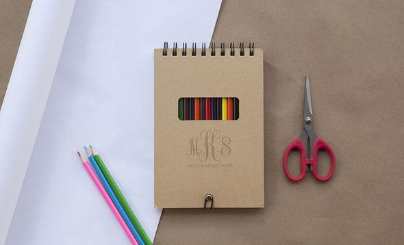 Personalized Notebook Bundle (Sticky Note, Sketch Pad, AND Calculator Notebooks!) -  - Qualtry