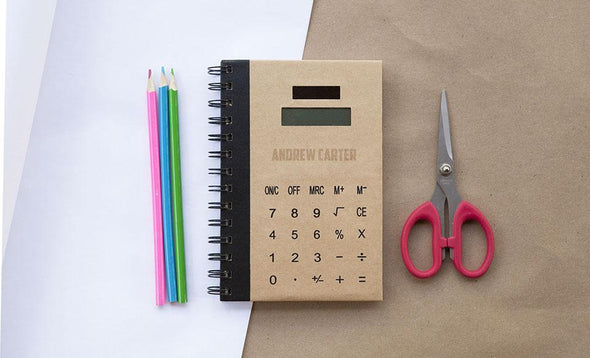 Personalized Calculator Notebook -  - Qualtry