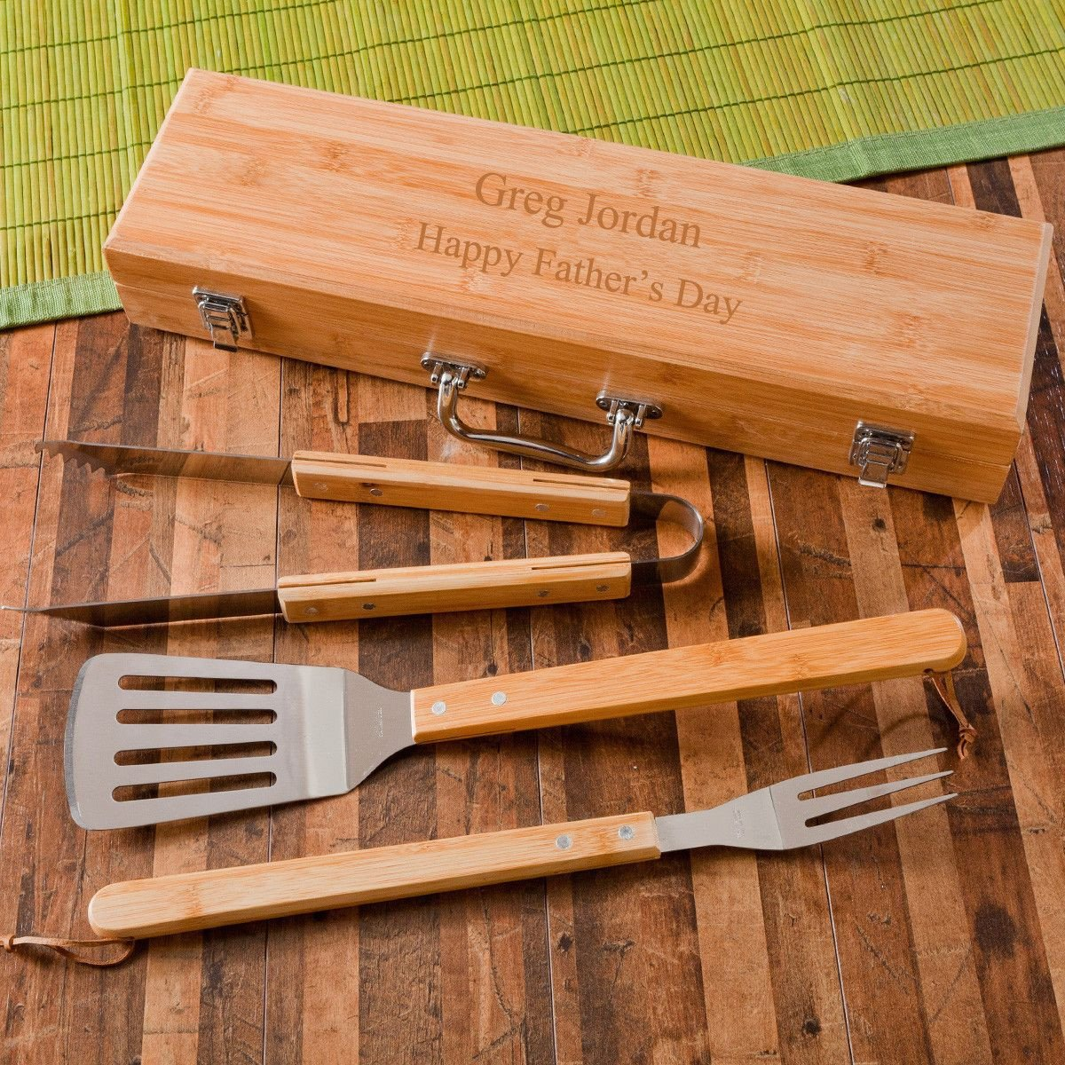 Personalized-Grill-Set-BBQ-Set-Bamboo-Case