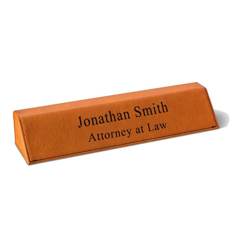 Personalized Desk Name Plate -  - Desk and Office - AGiftPersonalized