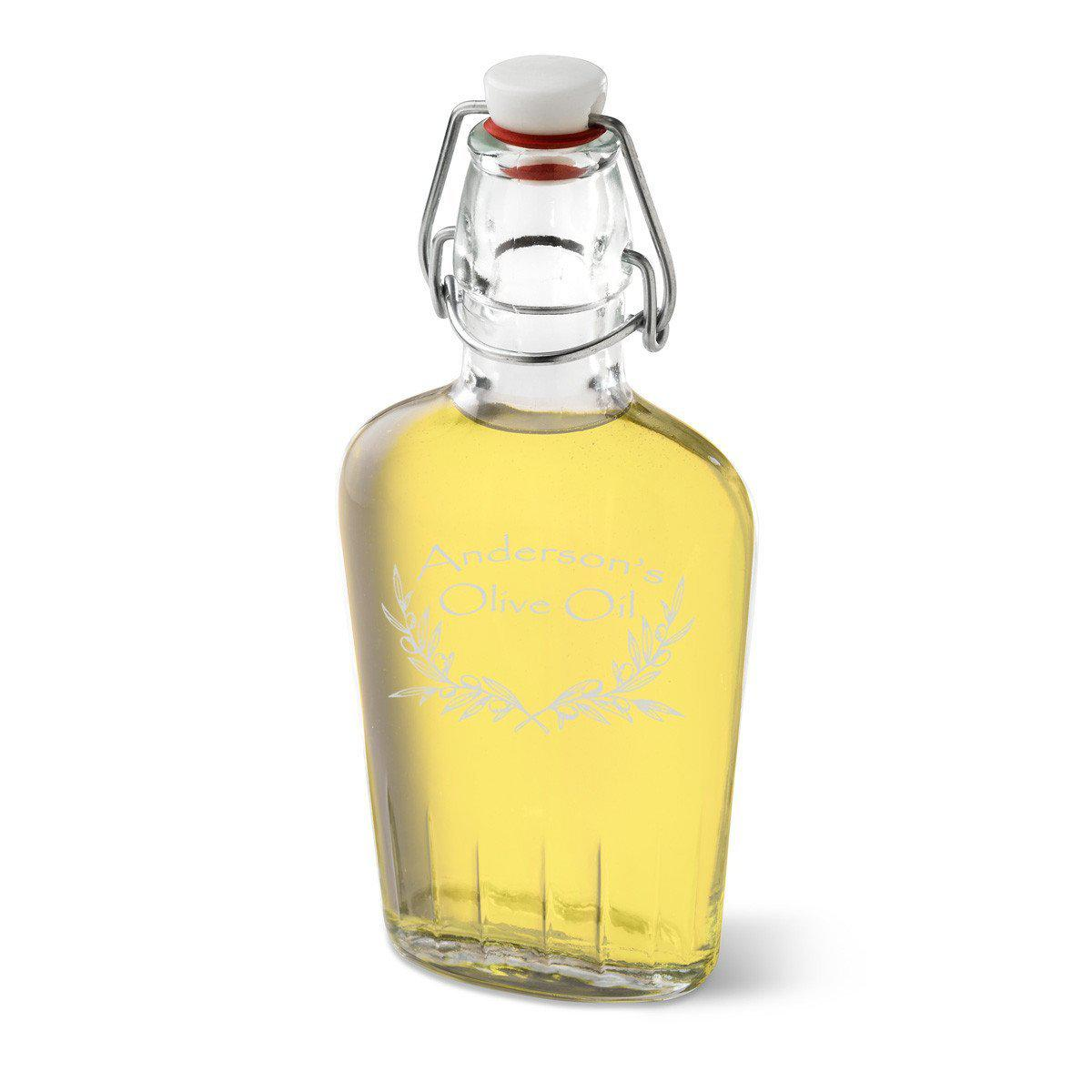 Personalized-Olive-Oil-Glass-Bottle