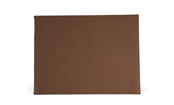 "Personalized Certificate Holder 9"" x 12"" - Dark Brown -  - JDS"