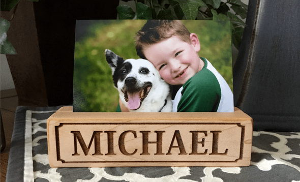 Personalized Photo Blocks -  - Qualtry