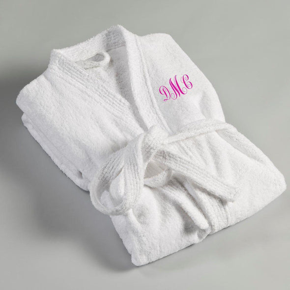 Personalized Women's Embroidered Bathrobe -  - JDS