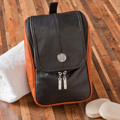 Personalized Travel Bag - Shaving Kit - Hanging Bag - Executive Gifts